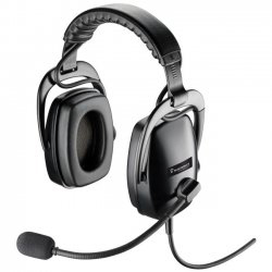 Plantronics dual sided headset