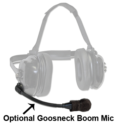 TITAN - flexboom Radio Headset